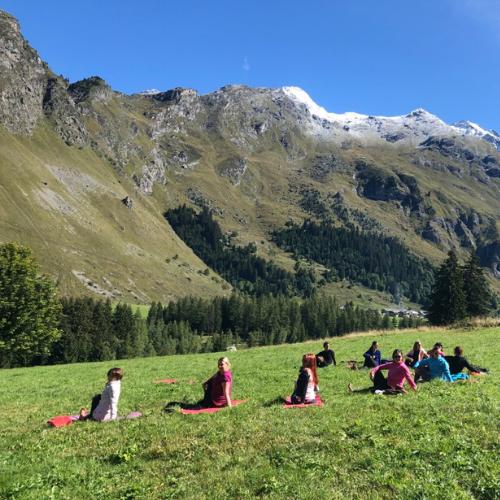 Séjour Yoga Montagne savoie randonnée