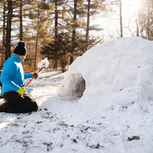 apprendre à construire un igloo