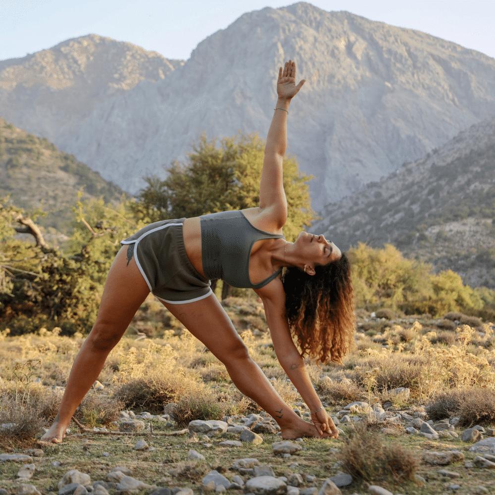 bivouac yoga montagne