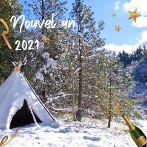 nouvel an à la montagne mercantour