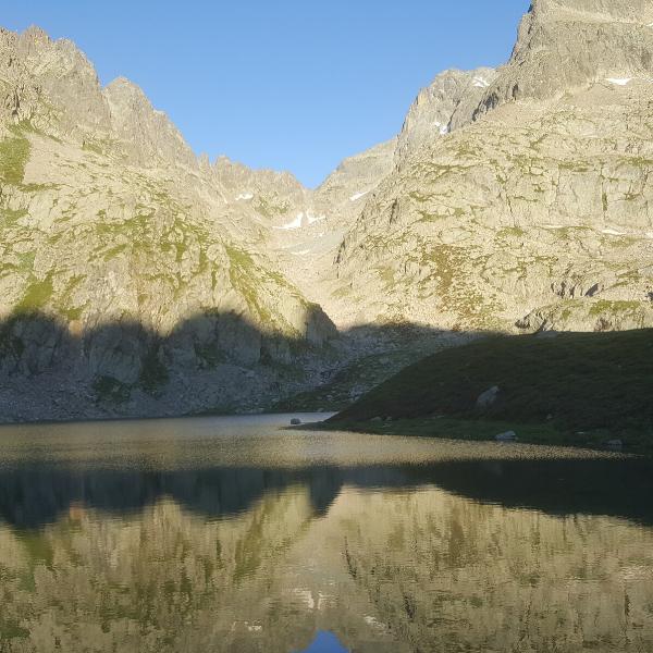 nuit en bivouac lac autier dans le mercantour
