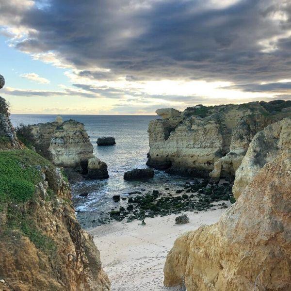plus belles plages en algarve sud du portugal