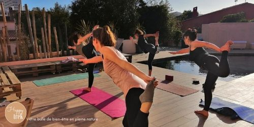 retraite de yoga dans le var pendant le weekend de pâques