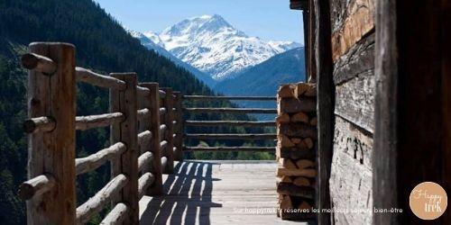 retraite de yoga dans les montagnes suisses