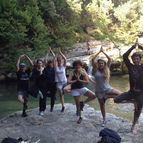 séjour yoga et randonnée alpes maritimes
