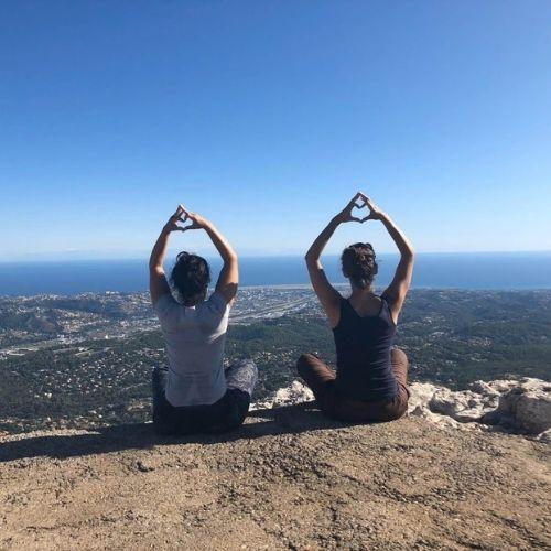 Retraite Yoga dans les Alpes Maritimes
