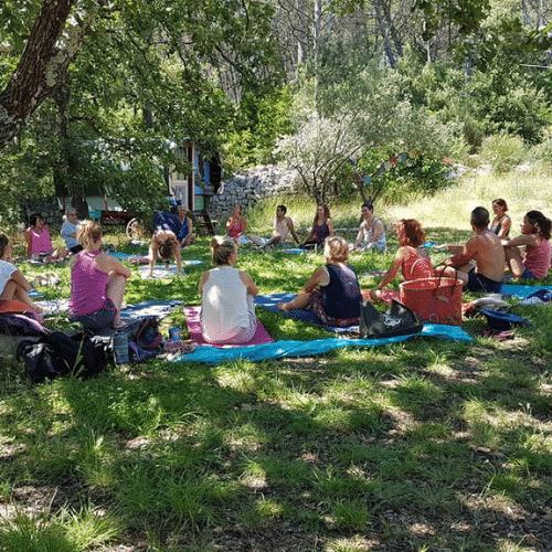 retraite de yoga et de méditation et naturopathie