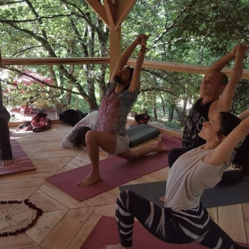 retraite de yoga dans le sud de la france