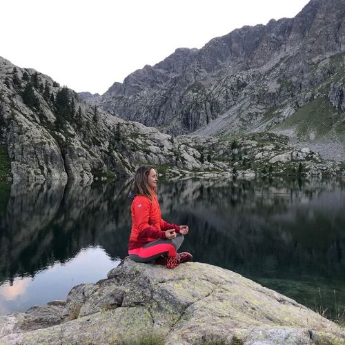 séjour meditation randonnée en montagne Mercantour
