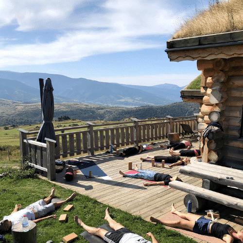 séjour randonnée yoga pyrénées