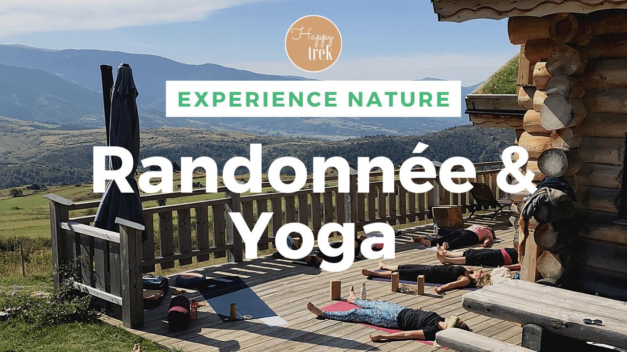 séjour rando yoga pyrénées video