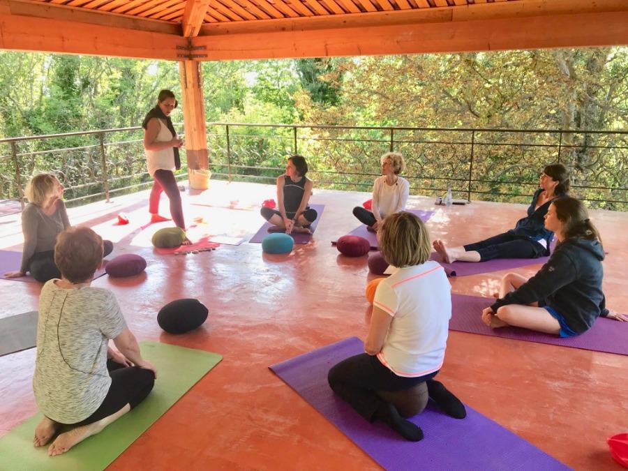 retraite de yoga dans le verdon