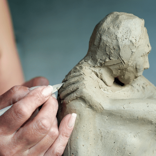 stage art therapie sculpture meditation sud de la france