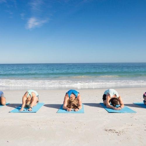 stage de surf yoga sud ouest hossegor
