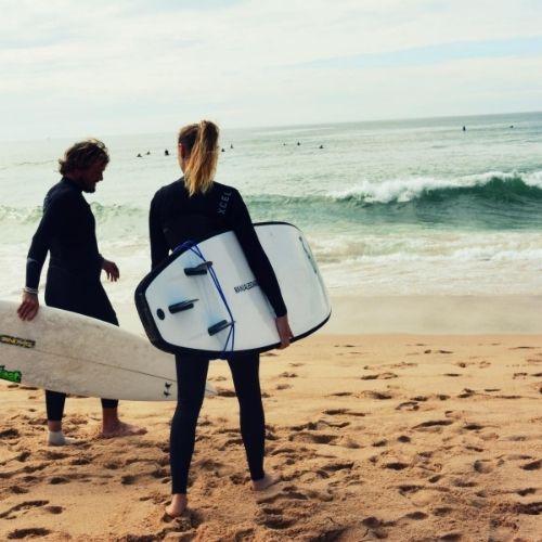 stage de surf yoga sud ouest france