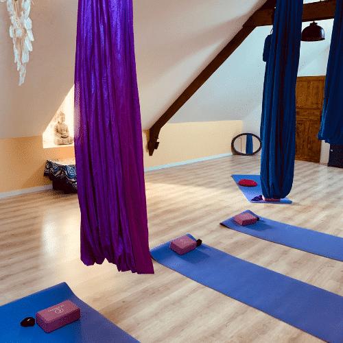 stage decouverte yoga aérien en france