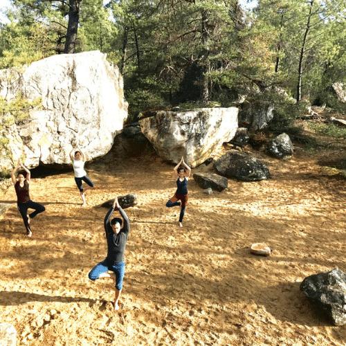 Stage Escalade et Yoga à Fontainebleau