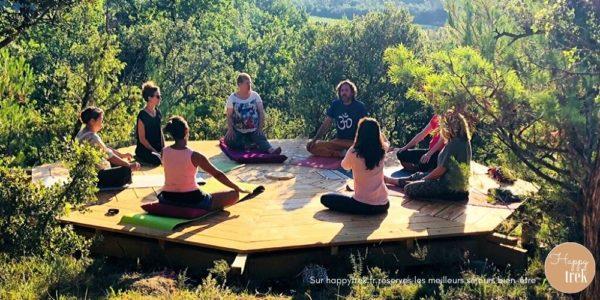 stage yoga et aromathérapie dans les Cévennes