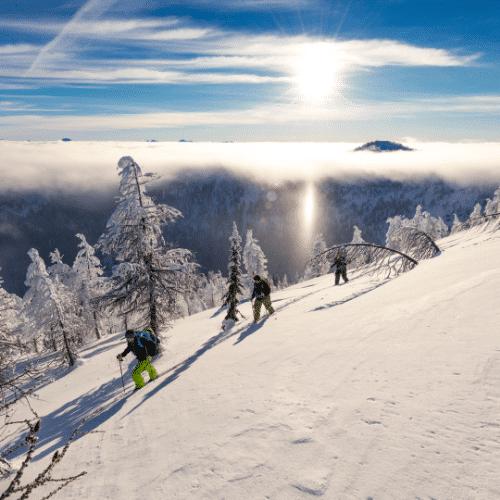 weekend initiaition ski de randonnée en savoie