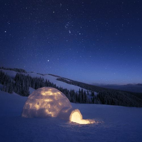 weekend nuit en igloo