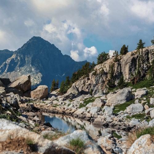 Weekend randonnée bivouac dans le Mercantour :