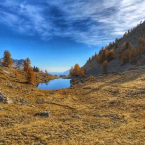 weekend randonnée mercantour bivouac automne