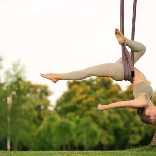 weekend Yin Yoga Corrèze avec découverte du Yoga aérien happy trek