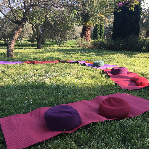 Yoga dans le Gard